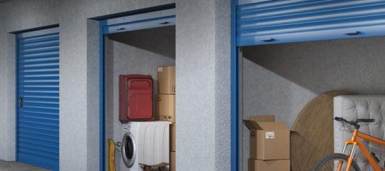 Box de stockage entreprise