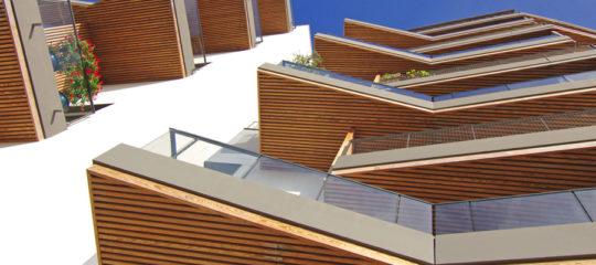 Immeuble entreprise en bois