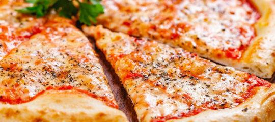 Pizzas italiennes à emporter