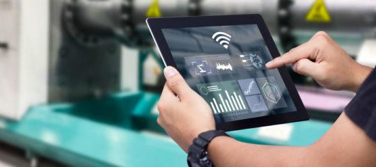 Une tablette industrielle