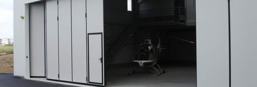 porte accordéon industrielle